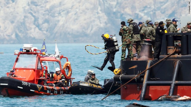Divers Find Cabin Crammed with Bodies