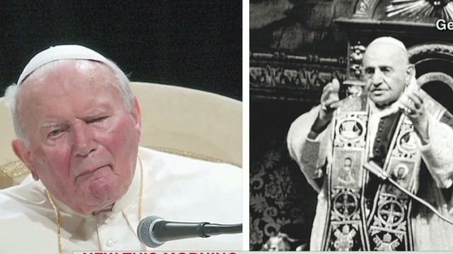 Two popes to become saints