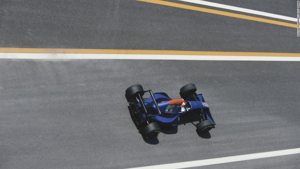 His sole race finish came at the Pacific Grand Prix in Aida, Japan where he crossed the line in 11th place -- two weeks before his death at Imola.