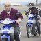 Carmelo Ezpeleta scooter