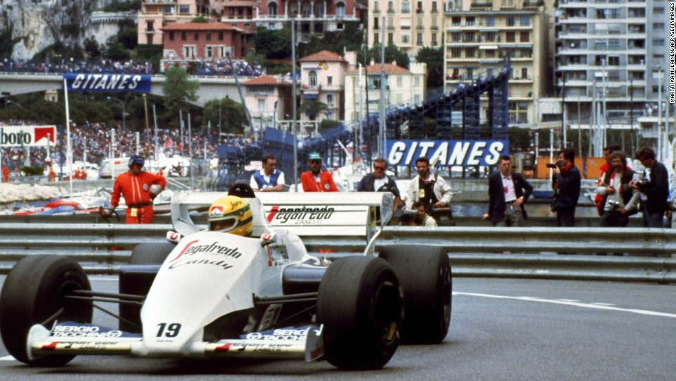 Senna -- born in Sao Paulo, Brazil on March 21 1960 -- made his F1 debut with Toleman in 1984, having previously impressed in karting and open-wheel racing. The Brazilian finished ninth in his maiden season.