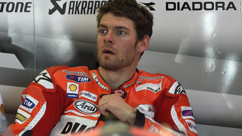 One rider who hasn't made the journey to Argentina is Ducati's second rider, Cal Crutchlow. The Briton needs surgery on his right hand after crashing out of the Grand Prix of the Americas.