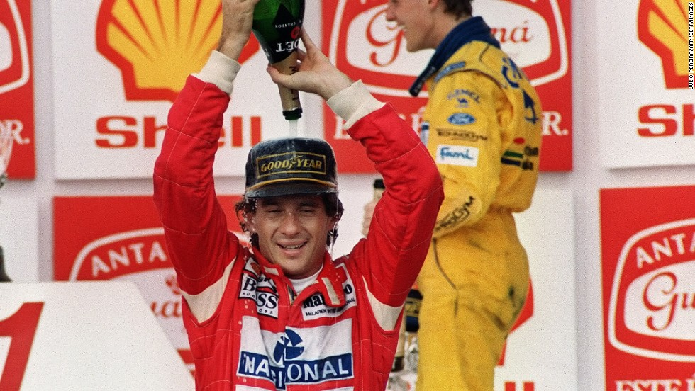 Senna is widely recognized as one of the sport's greatest ever drivers, having claimed 41 grand prix wins and 80 podium finishes during a 10-year F1 career.