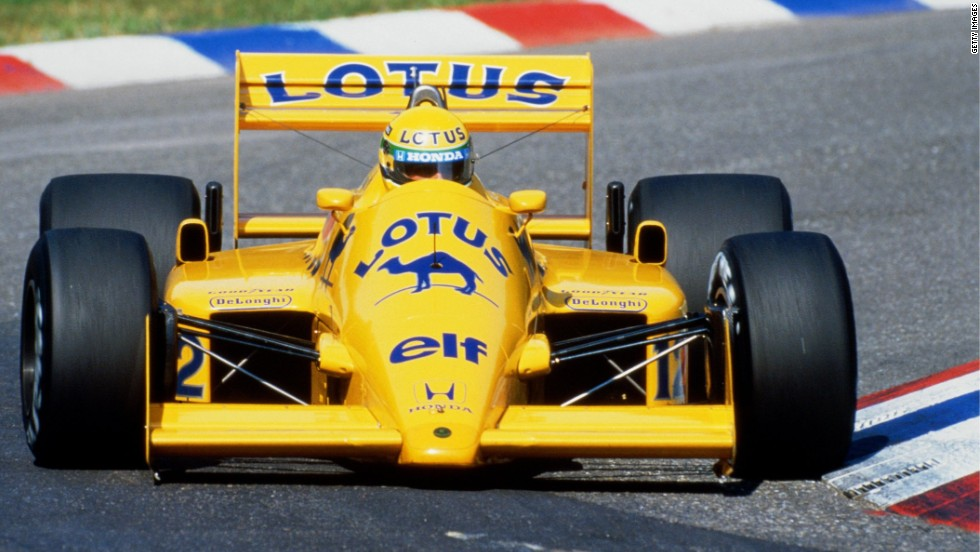 The Brazilian moved on to Lotus in 1985 and soon drove to his first grand prix victory in Portugal. Senna continued his ascendancy with the Lotus team and, in his final 1987 season with the team, he finished third in the drivers' championship.