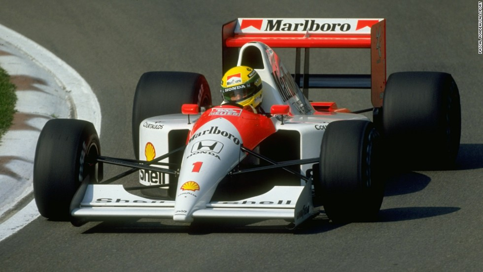 Senna signed for McLaren in 1988, where he would go on to enjoy the most prosperous period of his career. All three World Championships -- in 1988, 1990 and 1991 -- came during his six years with the English team.