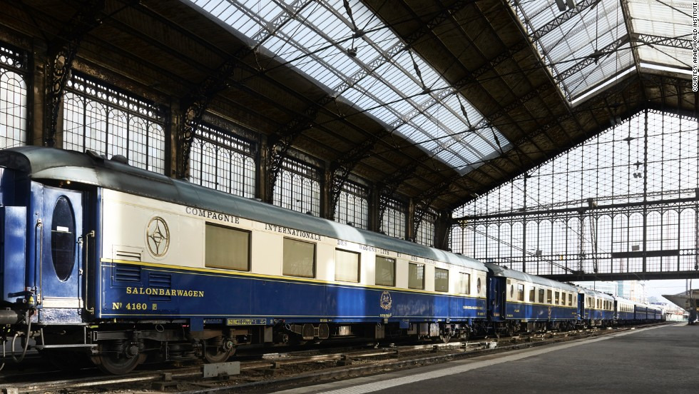 "A new exhibition in Paris, <a href=""http://www.imarabe.org/activites-evenements/collections-expositions/expositions/orient-express"" target=""_blank"">Once Upon a time on the Orient Express</a>, aims to restore the glory of the world's most legendary train. Here, the original Flèche d'Or carriage sits inside a station."