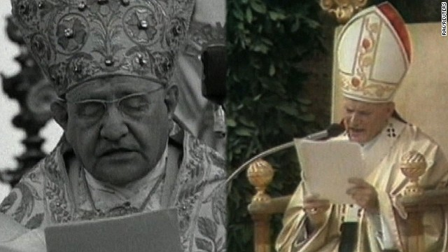 Papal sainthoods break with tradition
