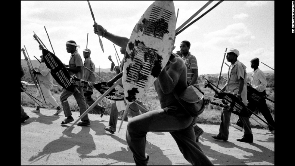 Members of an Inkatha faction set out to attack a village of ANC supporters. The Inkatha Freedom Party and ANC had differing ideas for how South Africa should be run, which led to some violent conflicts.