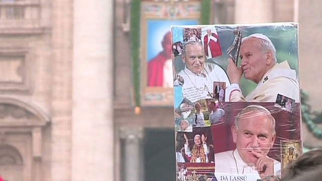 A historic first: double canonization