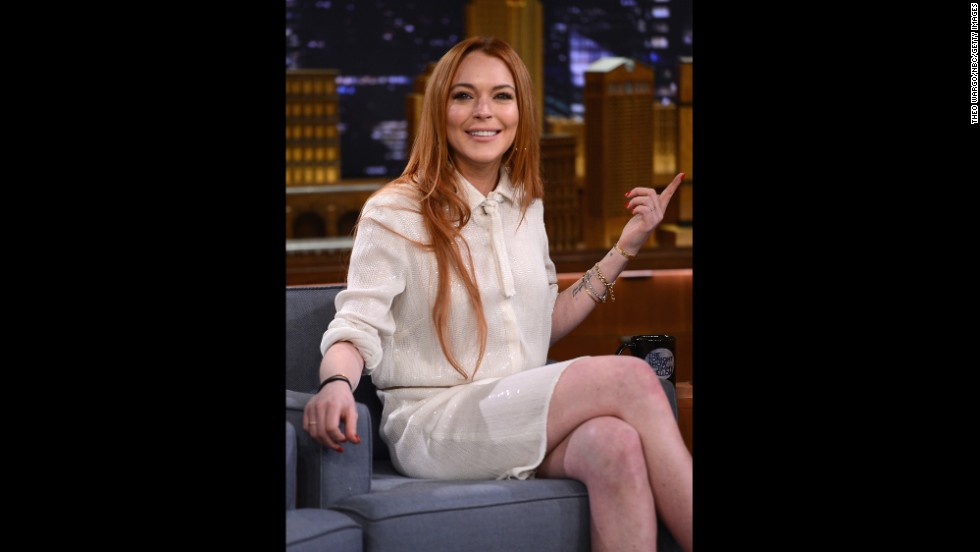 "In the years since ""Mean Girls"" was released, Lohan has become as well-known for her appearances in the courtroom as in films. In 2014 she embarked on a comeback attempt that included a docu-series on OWN and appearances like this one on ""The Tonight Show Starring Jimmy Fallon."""