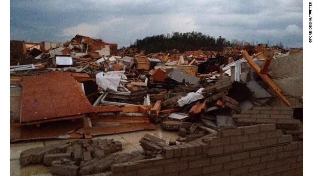 Tornado outbreak pummels several states