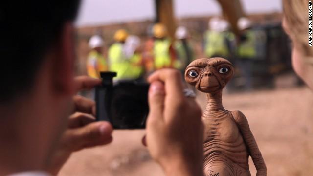 'E.T.' found in New Mexico landfill