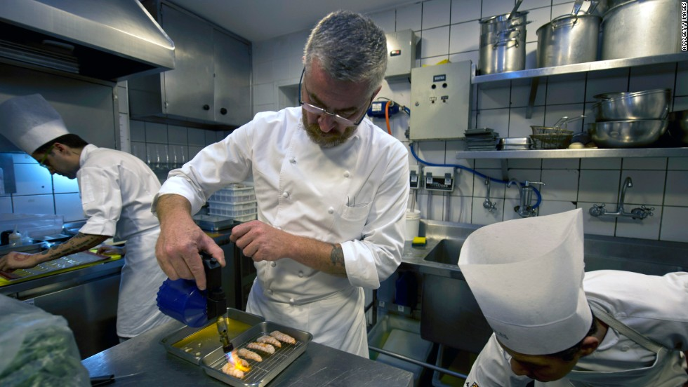 At D.O.M., chef-patron Alex Atala makes use of traditional local fare, such as palm hearts and cassava, in his Sao Paulo restaurant.