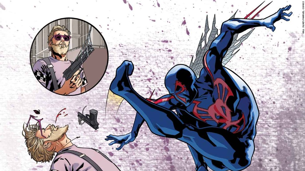 "A story about the future Spider-Man, ""Spider-Man 2099"" is also part of ""Amazing Spider-Man"" #1."