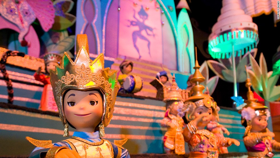 """The combination of Mary Blair's iconic design work combined with the Sherman Brothers' enduring theme song made It's a Small World the first true theme park ride,"" says Robert Niles, editor of ThemeParkInsider.com, of this Disney stalwart."