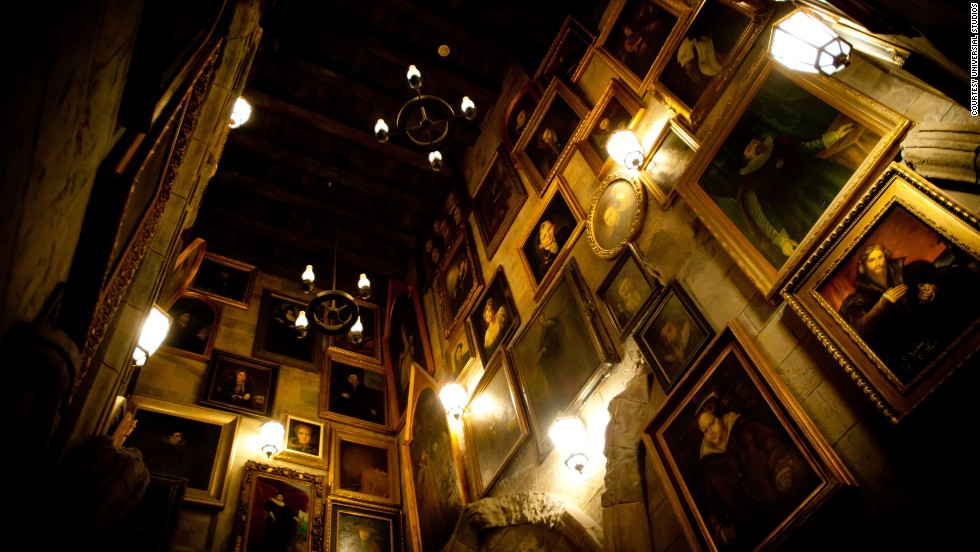 """Potterheads or not, the high-tech ride Harry Potter and the Forbidden Journey at the Islands of Adventure park in Orlando is credited as """"the first ride system to combine a tracked dark ride vehicle with a row of seats mounted to the end of an industrial robotic arm."""""""