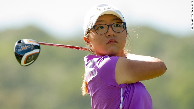 Lydia Ko is a study in concentration as she closes on her maiden LPGA win as a professional in California.