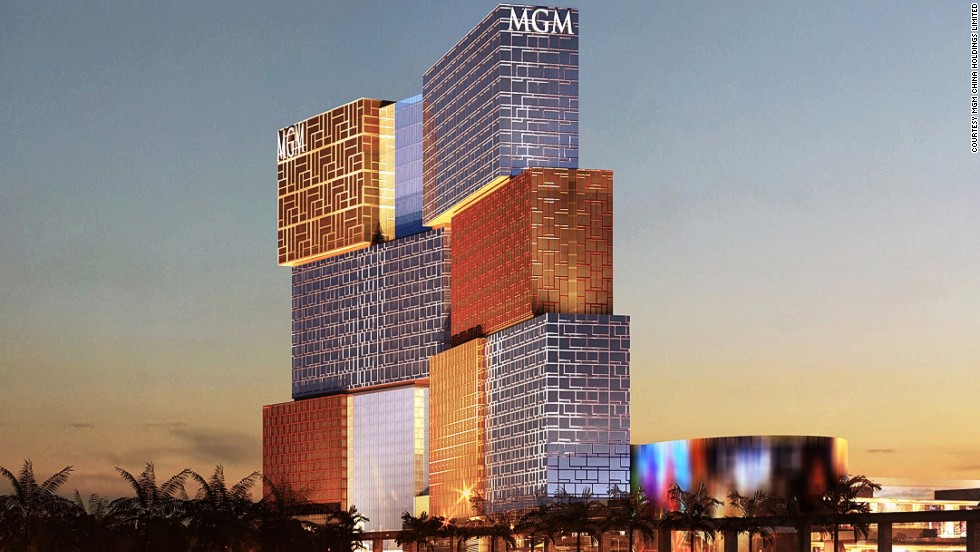 "<strong>MGM Cotai, MacauArchitect: </strong>Kohn Pedersen Fox<br /><strong>Status: </strong>Opening in 2016<br /><strong>Rooms: </strong>1,600<strong><br />Fast fact: </strong>MGM Cotai will feature 500 gambling tables and 2,500 slot machines. It will also include the ultra-luxurious and invitation-only resort villas, ""The Mansion,"" same as the MGM Grand in Las Vegas. <br /><em><a href=""http://c585941.r41.cf2.rackcdn.com/Press_Release_Celebrating_a_New_Beginning_MGM_COTAI.pdf"" target=""_blank"">MGM Cotai</em></a><em>, Cotai Strip, Macau</em>"