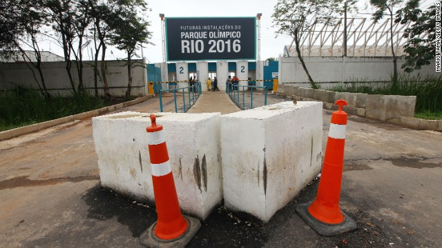 The International Olympic Committee has raised concerns over Brazil's preparations to host the 2016 Games.