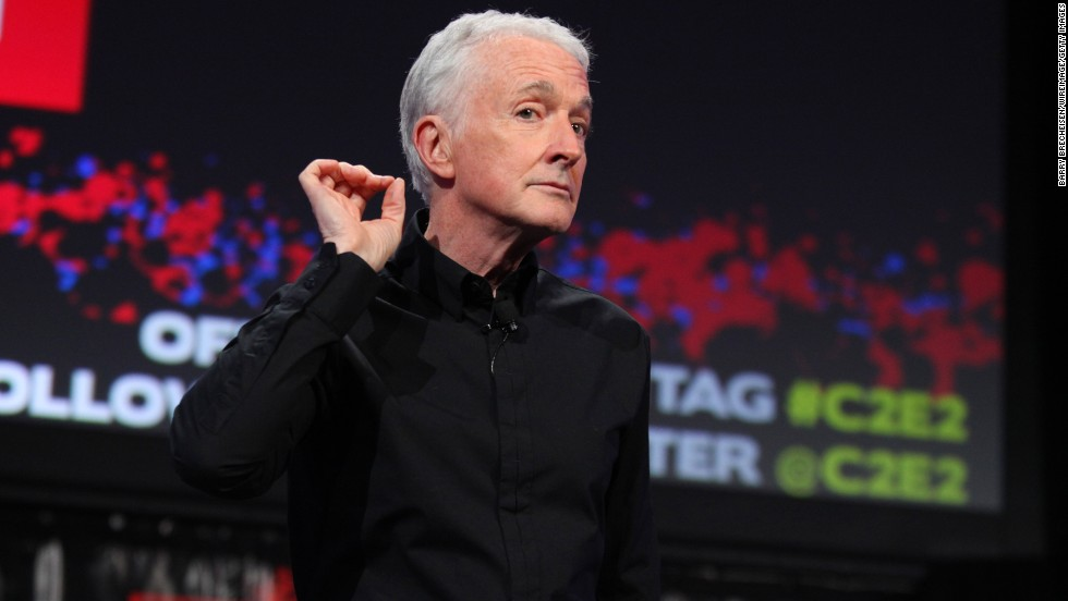 We can't be the only ones who are supremely relieved to see that Anthony Daniels, the voice of C-3PO, will be back in action.