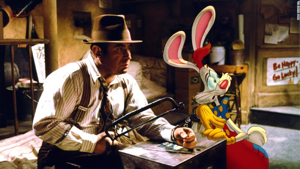 "Bob Hoskins, who died Tuesday, April 29, at 71, was known for playing tough guys with soft hearts. In 1988's<strong> ""Who Framed Roger Rabbit,"" </strong>probably his most famous film, he plays detective Eddie Valiant, who agrees to help the title character, who's being accused of murdering a local power broker."