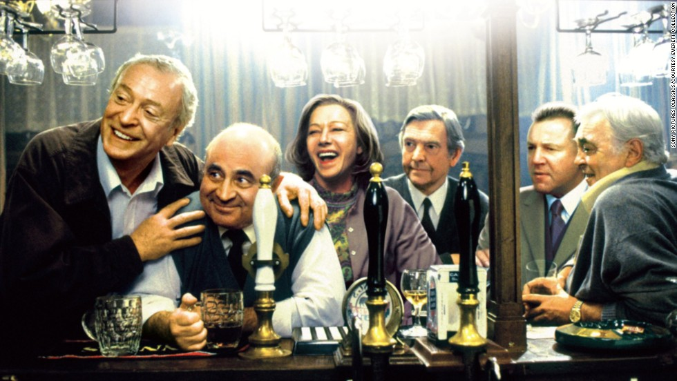 "In 2001's<strong> ""Last Orders,""</strong> the actor was part of a terrific cast -- from left, Michael Caine, Hoskins, Helen Mirren, Tom Courtenay, Ray Winstone and David Hemmings -- in a film about friends who gather to honor the last wishes of Caine's character."