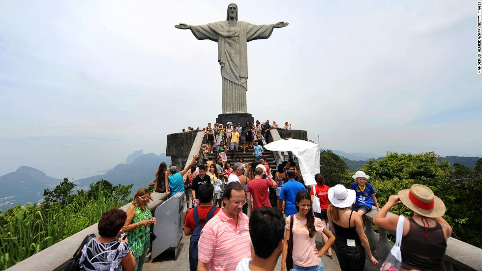 This 98-foot-tall statue is Rio's most famous landmark, and therefore usually heaving with crowds. You can avoid the crush by going on a weekday, or when the sky isn't totally clear.