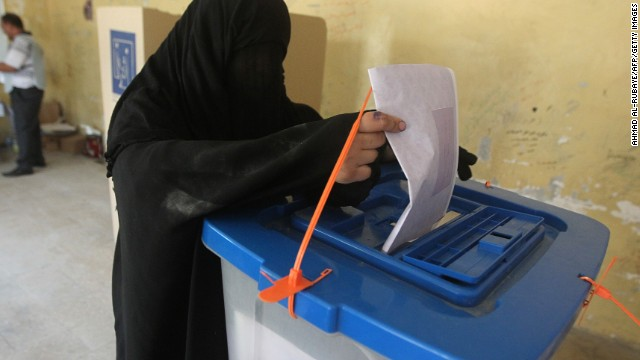 Iraqis head to polls amid violence