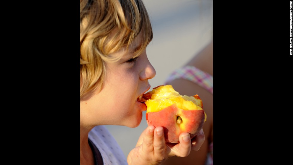 Peaches ranked No. 4 on the EWG list. Pesticide persisted on fruit, often even after it was washed, studies found.