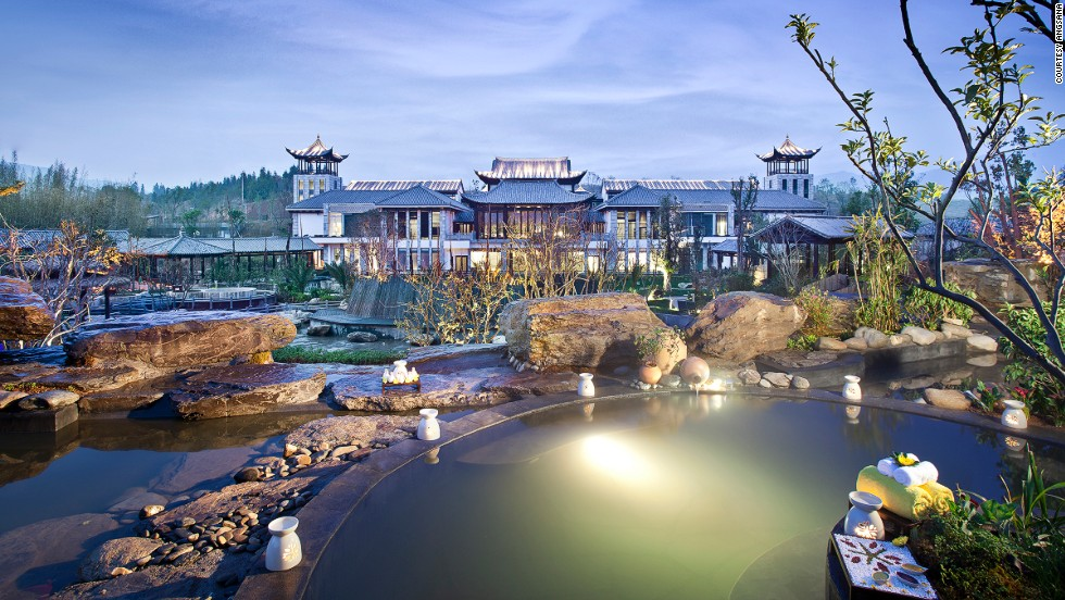 "<strong>Angsana Tengchong, Yunnan</strong><br /><strong>Status: </strong>Opened 2013<br /><strong>Rooms: </strong>37 retreats and villas<strong><br />Fast fact:</strong> With architecture inspired by classical Chinese poetry and paintings, this new hot spring retreat has 43 outdoor mineral-based pools and 14 spa pavilions. Each retreat and villa comes with its own private hot spring. <br /><em><a href=""http://www.angsana.com/en/tengchong/#prettyPhoto"" target=""_blank"">Angsana Tengchong</em></a><em>, Beihai Town, Tengchong County, Yunnan Province; +86 875 899 9888</em>"