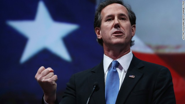 Santorum bucks his party on minimum wage