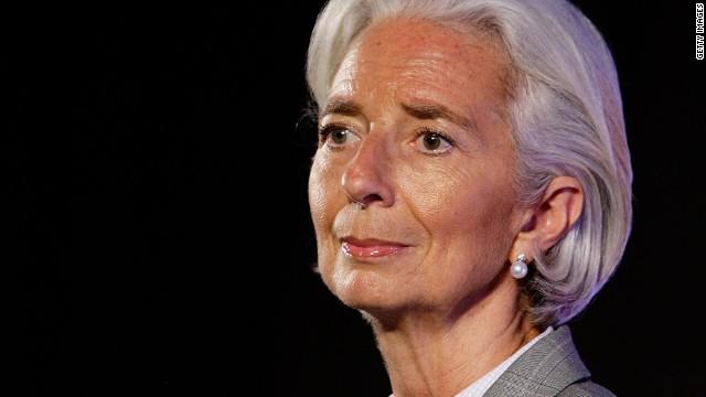 Lagarde: Russian economy has suffered