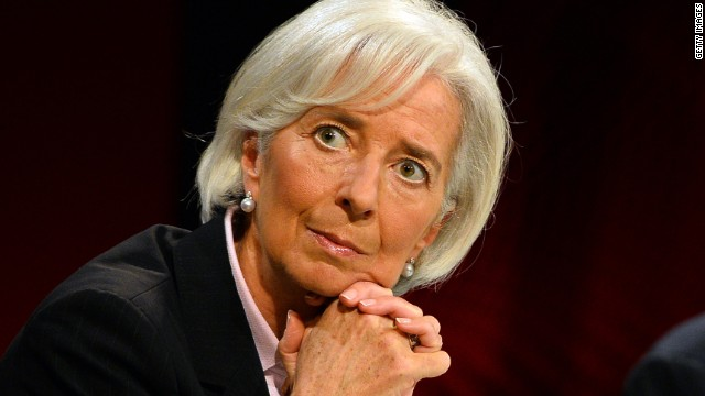 IMF chief warns of inequality's danger