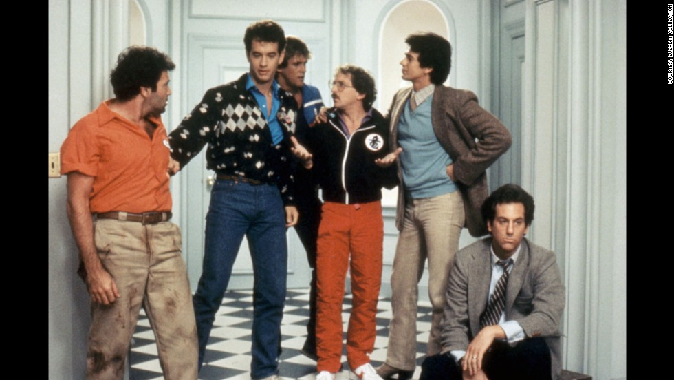 "<strong>""Bachelor Party"":</strong> In this 1984 flick, Tom Hanks plays a good-guy bachelor taken aback when his friends throw him the debauched evening of a lifetime -- complete with some very adult entertainment."