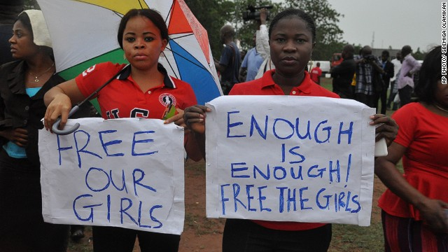 Police: 223 abducted girls still missing