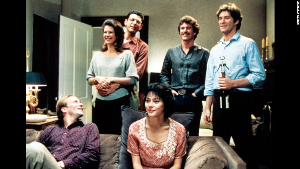 "<strong>""The Big Chill"" </strong>(1983) -- Come for the movie, stay for the soundtrack. An all-star ensemble including Kevin Kline, Glenn Close, Jeff Goldblum and William Hurt come together for this drama about a group of Baby Boomers who reunite for a trip after the suicide of a friend. (Netflix)"