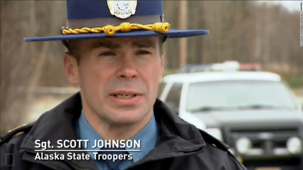 "Johnson appeared in four episodes of ""Alaska State Troopers"" from 2011 to 2013, according to IMDb.com. The 45-year-old was born in Fairbanks but grew up in Tok, Alaska. He became a state trooper in 1993. He is survived by his wife and three daughters."