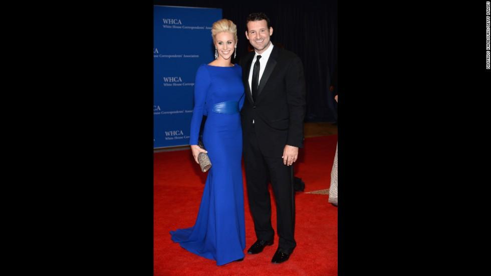 Candice Crawford and Tony Romo