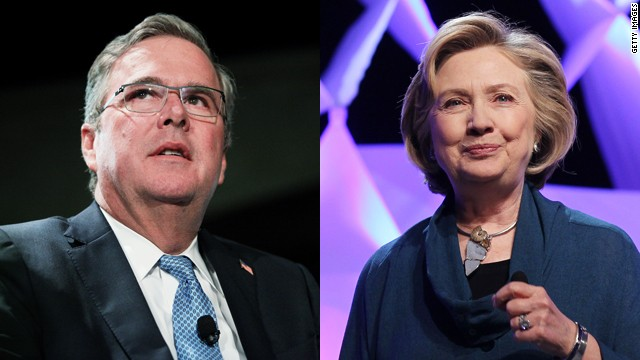 Bush or Clinton in 2016?