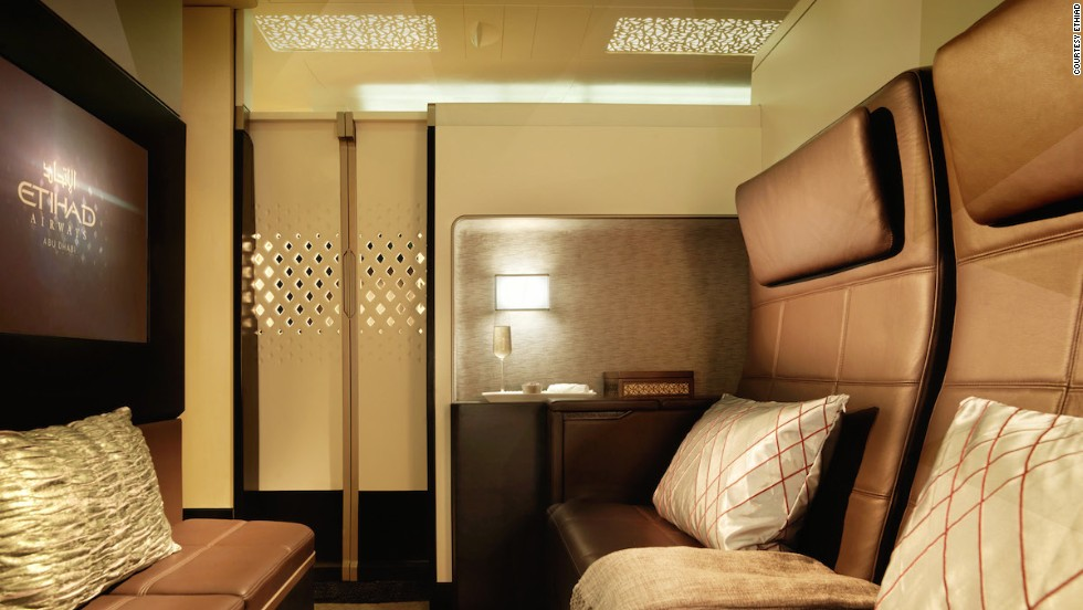 Etihad Offers Inflight 'Residence'