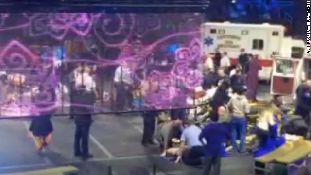 Performers hurt in circus accident