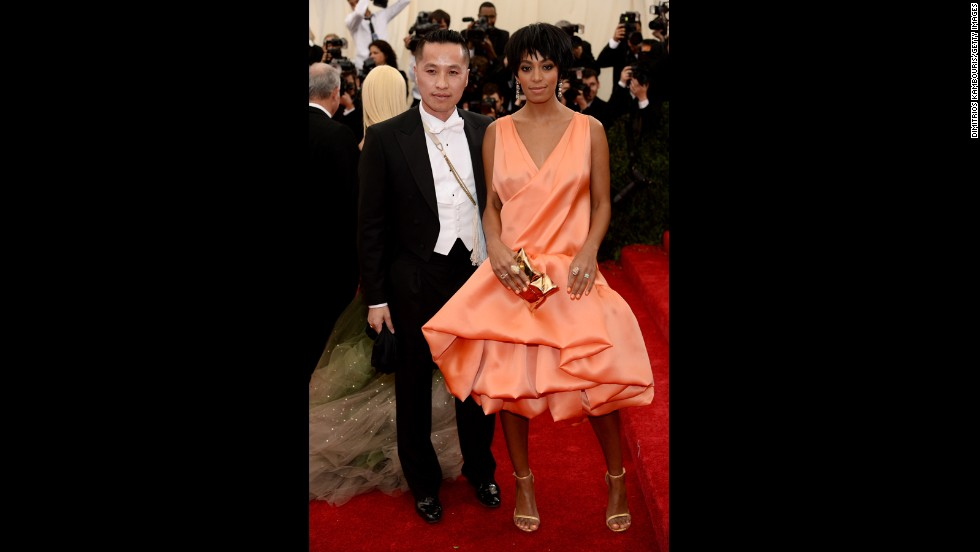 Designer Phillip Lim and Solange Knowles