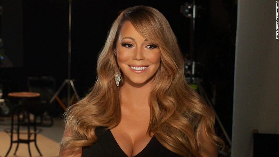 """Mariah Carey is called """"Cow Sister"""" in China."""
