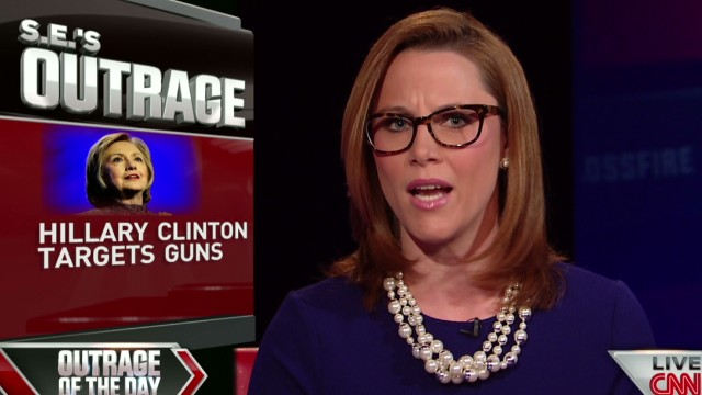 Cupp takes on Hillary Clinton on guns