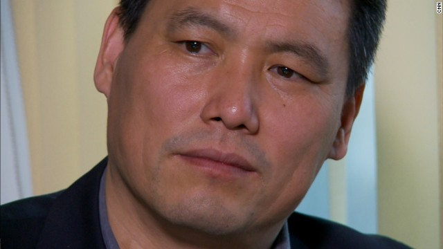 Human rights lawyer Pu Zhiqiang. Screengrab from CNN interview.
