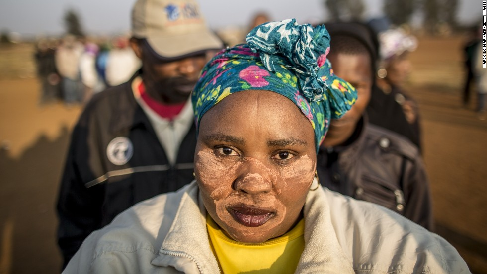 "MAY 7 - BEKKERSDAL, SOUTH AFRICA: People queue to vote in <a href=""http://edition.cnn.com/2014/05/07/world/africa/south-africa-elections/index.html"">South Africa's fifth fully democratic, all-race elections</a>. The country's ""Born Free"" generation -- those born after apartheid was abolished -- is heading to the polls for the first time."
