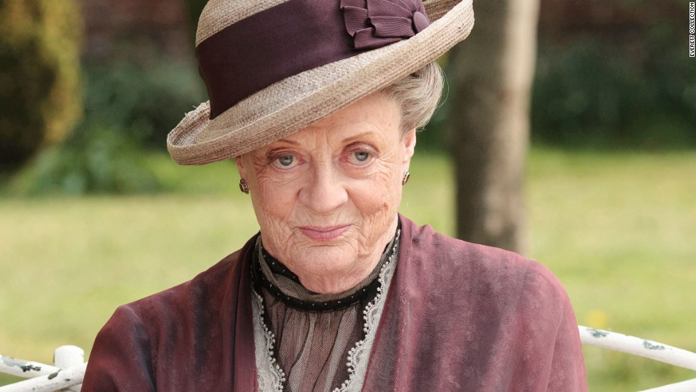 """Downton Abbey"" would be much less entertaining without the cutting Dowager Countess, played by Maggie Smith. There's love in her heart -- she did raise Robert and Rosamund (with the help of servants, of course) -- but her mouth says things such as, ""I will applaud your discretion when you leave."""