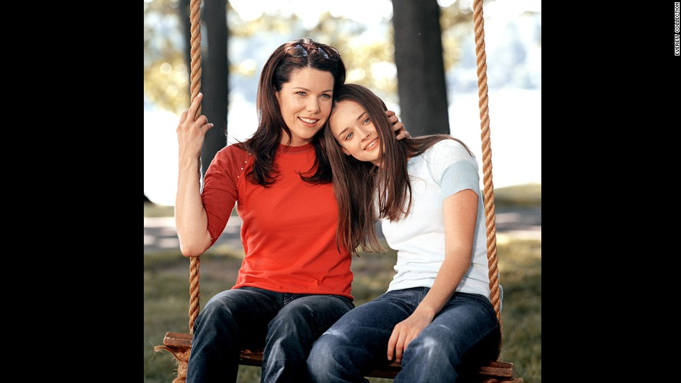 "Lorelai Gilmore (Lauren Graham, left) may have been mother to Rory Gilmore (Alexis Bledel), but she wasn't always the adult on ""Gilmore Girls."" Since she gave birth to Rory when she was 16, she had a lot of growing up to do."