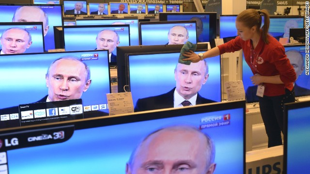 Russia's president annexes ... words