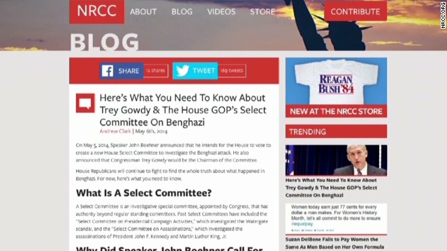 Gowdy to NRCC: Stop Benghazi fundraising
